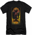 Justice League slim-fit t-shirt Deco mens black