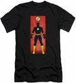 Justice League slim-fit t-shirt Flash Block mens black