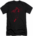 Justice League slim-fit t-shirt Flash Darkness mens black