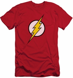 Justice League slim-fit t-shirt Flash Logo mens red
