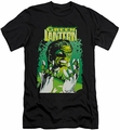 Justice League slim-fit t-shirt Green Lantern #49 Cover mens black