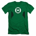 Justice League slim-fit t-shirt New Green Lantern Uniform mens kelly green