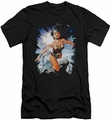 Justice League slim-fit t-shirt Of Themyscira mens black