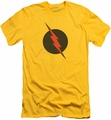 Justice League slim-fit t-shirt Reverse Flash mens yellow