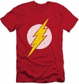 Justice League slim-fit t-shirt Rough Flash mens red