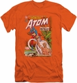 Justice League slim-fit t-shirt Showcase #34 Cover mens orange