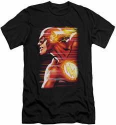 Justice League slim-fit t-shirt Speed Head mens black