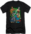 Justice League slim-fit t-shirt Will Power mens black
