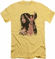 Justice League slim-fit t-shirt Wonder Woman #150 Cover mens banana
