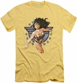 Justice League slim-fit t-shirt Wonder Woman All Star mens banana