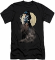 Justice League slim-fit t-shirt Zatanna Illusion mens black