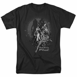 Justice League t-shirt Bad Girls are Good mens