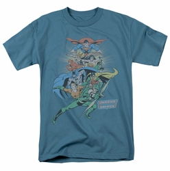 Justice League t-shirt In League mens