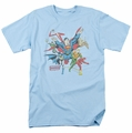 Justice League t-shirt Lead the Charge mens