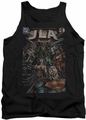 Justice League  tank top #1 Cover mens black
