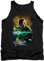 Justice League  tank top Abin Sur mens black