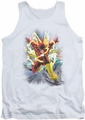 Justice League  tank top Brightest Day Flash mens white