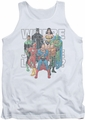 Justice League  tank top Classified #1 Cover mens white