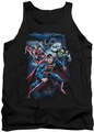 Justice League  tank top Cosmic Crew mens black