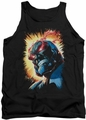 Justice League  tank top Darkseid Is mens black