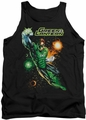 Justice League  tank top Galactic Guardian mens black