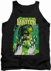 Justice League  tank top Green Lantern #49 Cover mens black