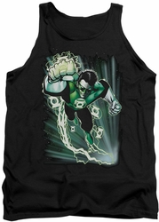 Justice League  tank top Green Lantern Emerald Energy mens black