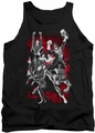 Justice League  tank top Jla Explosion mens black