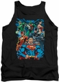 Justice League  tank top Justice Is Served mens black