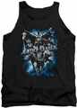 Justice League  tank top Justice Storm mens black