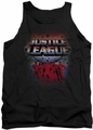 Justice League  tank top Star League mens black