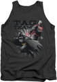 Justice League  tank top Tag Team mens charcoal