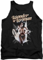 Justice League  tank top Wonder Woman Break Out mens black