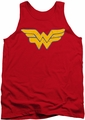 Justice League  tank top Wonder Woman Rough Wonder mens red