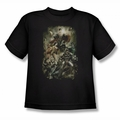 Justice League youth teen t-shirt Aftermath black