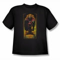 Justice League youth teen t-shirt Deco black