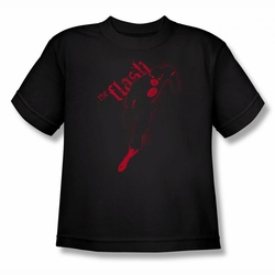 Justice League youth teen t-shirt Flash Darkness black