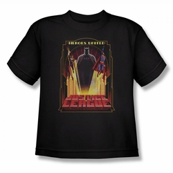 Justice League youth teen t-shirt Heroes United black