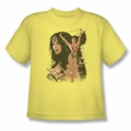 Justice League youth teen t-shirt Wonder Woman #150 Cover banana