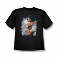 Justice League youth teen t-shirt Wonder Woman Of Themyscira black