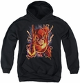 Justice League youth teen hoodie Flash #1 black