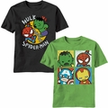 Kawaii Marvel shirts