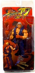 Ken action figure Street Fighter IV Survival Mode *bad packaging*