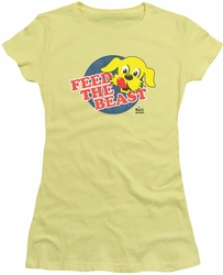 Ken L Ration juniors t-shirt Feed The Beast banana
