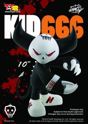 Kid666 10 Inch Vinyl Figure *bad box*