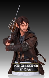 Kili Dwarf mini bust The Hobbit