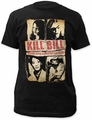 Kill Bill assassination squad fitted jersey tee mens black pre-order