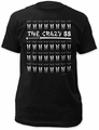 Kill Bill the crazy 88 fitted jersey tee mens black pre-order