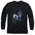 Killer Croc adult long-sleeved shirt Arkham Asylum black