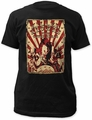 Killer Klowns circus flyer fitted jersey tee pre-order